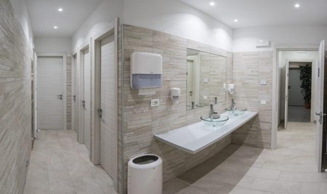 Hotel Rizzi - Servizi igienici del ristorante